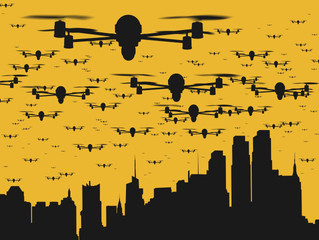 What would a drone filled world look like?