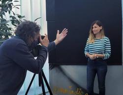 Photocall analógico con Laura Hojman