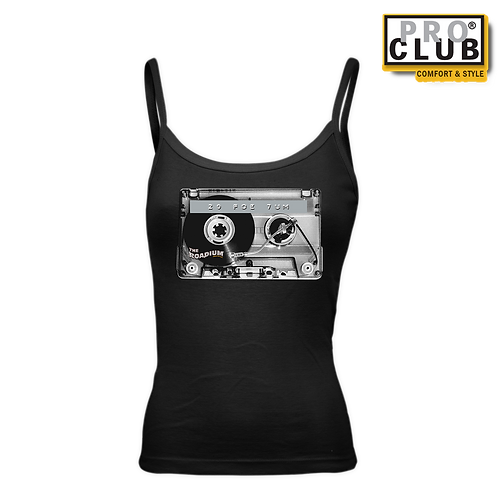 20 FOE 7UM (CASSETTE TURNTABLE) WOMENS TANK TOP