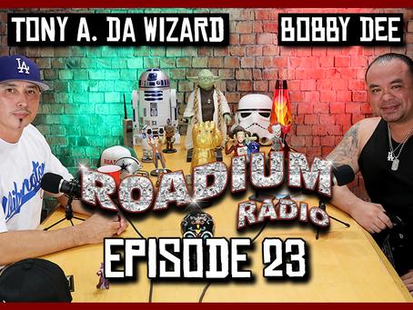TONY VISION PRESENTS - ROADIUM RADIO - EPISODE 23 - BOBBY DEE
