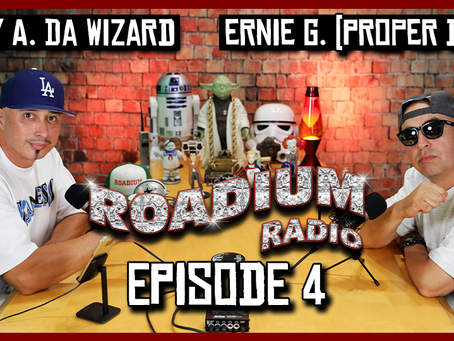TONY VISION PRESENTS - ROADIUM RADIO - EPISODE 4 - ERNIE G. / PROPER DOS