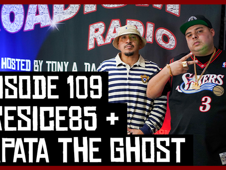 TONY VISION PRESENTS - ROADIUM RADIO - EPISODE 109 - ZAPATA THE GHOST & PRESICE85