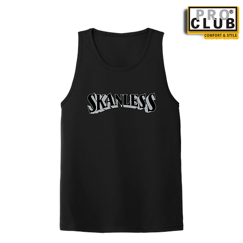 SKANLESS SILVER MEN'S TANK TOP