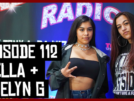 TONY VISION PRESENTS - ROADIUM RADIO - EPISODE 112 - BELLA & EVELYN G