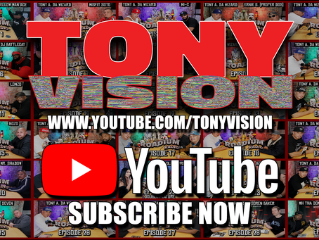 SUBSCRIBE NOW TO THE TONY VISION YOUTUBE CHANNEL