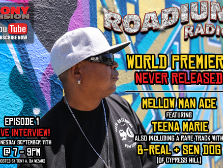ROADIUM RADIO GOES LIVE SEPTEMBER 11TH AT 7PM!!!