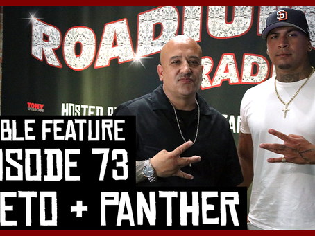 TONY VISION PRESENTS - ROADIUM RADIO - EPISODE 73 - WEETO & PANTHER (DOUBLE FEATURE)