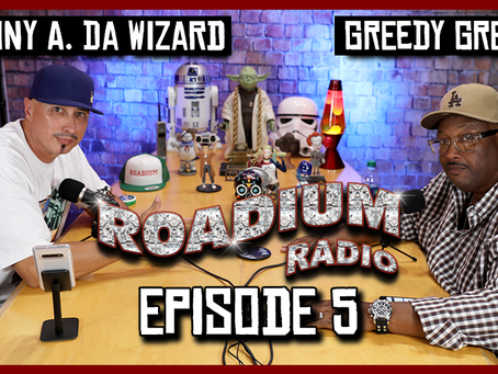 TONY VISION PRESENTS - ROADIUM RADIO - EPISODE 5 - GREEDY GREG