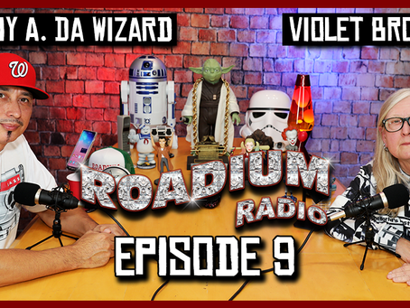 TONY VISION PRESENTS - ROADIUM RADIO - EPISODE 9 - VIOLET BROWN