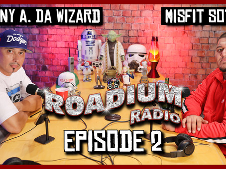 TONY VISION PRESENTS - ROADIUM RADIO - EPISODE 2 - MISFIT SOTO