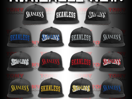 SKANLESS SNAPBACKS NOW AVAILABLE!!!