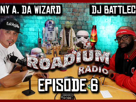 TONY VISION PRESENTS - ROADIUM RADIO - EPISODE 6 - DJ BATTLECAT