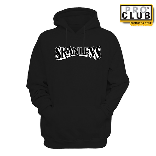 SKANLESS (BLACK) HOODIE BY TONY A.