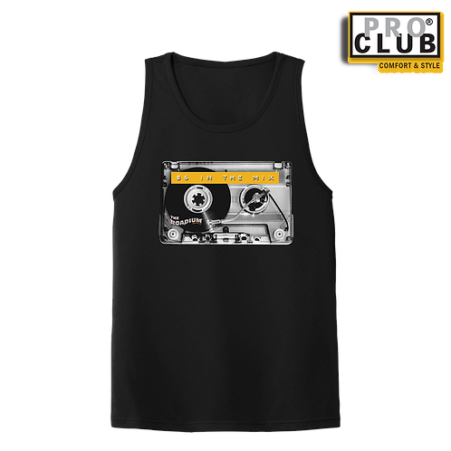 86 IN THE MIX (CASSETTE TURNTABLE) MEN'S TANK TOP