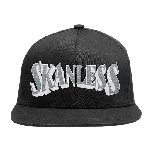 SKANLESS (SILVER) 3D SNAPBACK