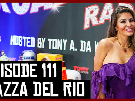 TONY VISION PRESENTS - ROADIUM RADIO - EPISODE 111 - DAZZA DEL RIO