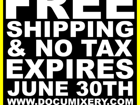 FREE SHIPPING & NO TAX ON ALL APPAREL! (EXPIRES JUNE 30TH)