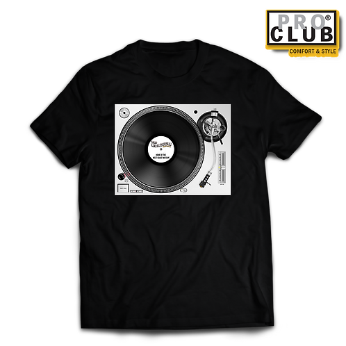 TURNTABLE ROADIUM RECORD (LIGHT) T-SHIRT