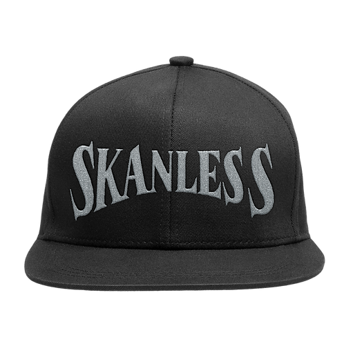 SKANLESS (SILVER) SNAPBACK