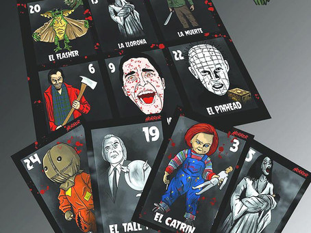 HORROR LOTERIA NOW AVAILABLE!!!