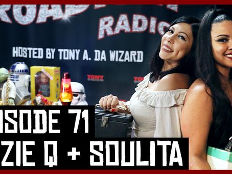 TONY VISION PRESENTS - ROADIUM RADIO - EPISODE 71 - SUZIE Q & SOULITA