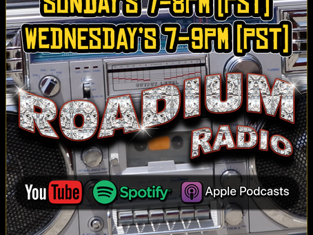 ROADIUM RADIO NOW AVAILABLE ON SPOTIFY AND APPLE PODCAST!!!
