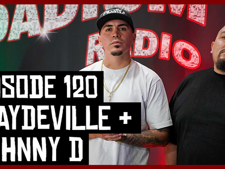 TONY VISION PRESENTS - ROADIUM RADIO - EPISODE 120 - PLAYDEVILLE & JOHNNY D