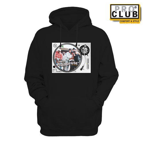 THE POSSE SLIPMAT TURNTABLE (LIGHT) HOODIE BY TONY A.