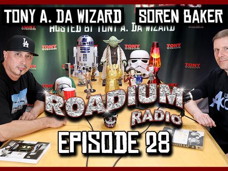TONY VISION PRESENTS - ROADIUM RADIO - EPISODE 28 - SOREN BAKER