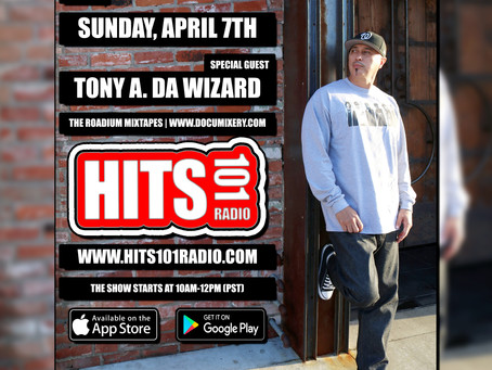 NOW! Tony A. LIVE on the Sundy Skool Show! 10am-12pm