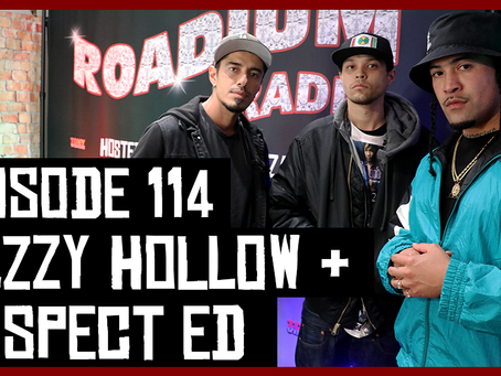 TONY VISION PRESENTS - ROADIUM RADIO - EPISODE 114 - DEZZY HOLLOW & SUSPECT ED