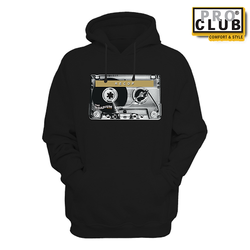 RECOP CASSETTE TURNTABLE HOODIE BY TONY A.