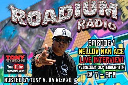 ROADIUM RADIO GOES LIVE SEPTEMBER 11TH AT 7-9PM!!!