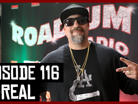 TONY VISION PRESENTS - ROADIUM RADIO - EPISODE 116 - B-REAL