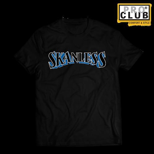SKANLESS (BLUE) T-SHIRT