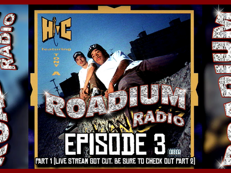 TONY VISION PRESENTS - ROADIUM RADIO - EPISODE 3 - HI-C