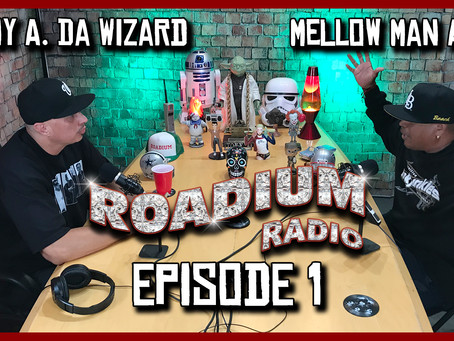 TONY VISION PRESENTS - ROADIUM RADIO - EPISODE 1 - MELLOW MAN ACE