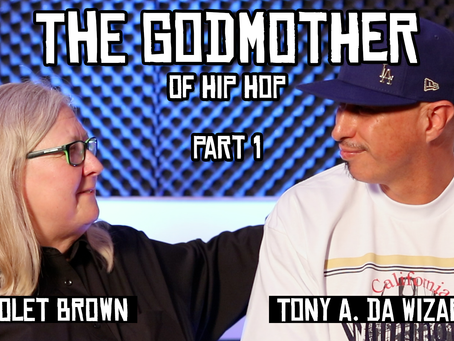 TONY VISION PRESENTS: CONVERSATIONS WITH VIOLET BROWN (THE GODMOTHER OF HIP HOP) PART 1