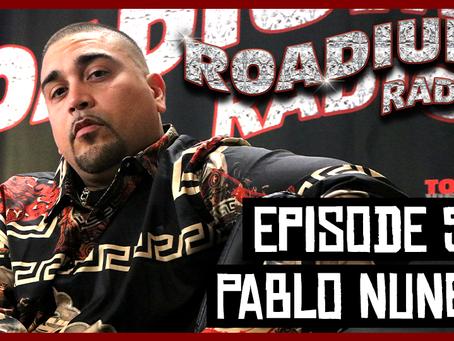 TONY VISION PRESENTS - ROADIUM RADIO - EPISODE 52 - PABLO NUNEZ