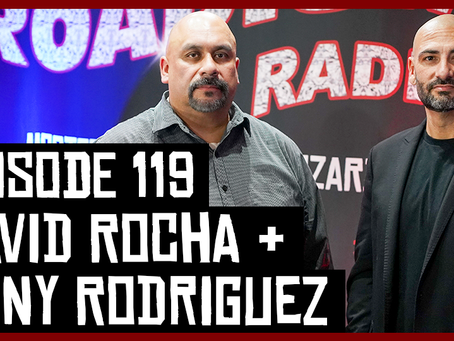 TONY VISION PRESENTS - ROADIUM RADIO - EPISODE 119 - DAVID ROCHA & TONY RODRIGUEZ