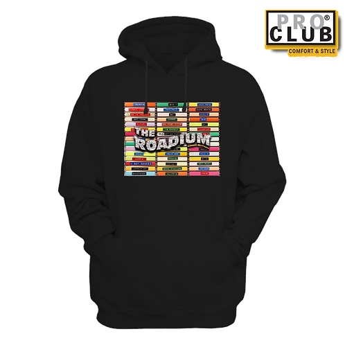 THE ROADIUM CLASSIC MIXTAPES HOODIE BY TONY A.
