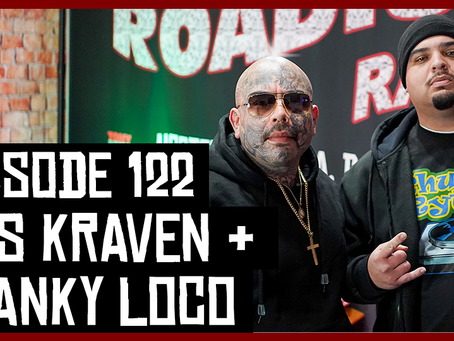 TONY VISION PRESENTS - ROADIUM RADIO - EPISODE 122 - NES KRAVEN & SPANKY LOCO