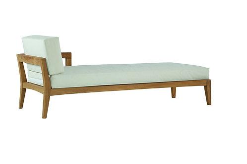 Lounge com braço Esqº Vernom Teca