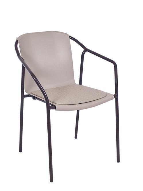 Cadeira Rod Pad Moka MN-ROD12 028X00 Pearl 015S01Taupe