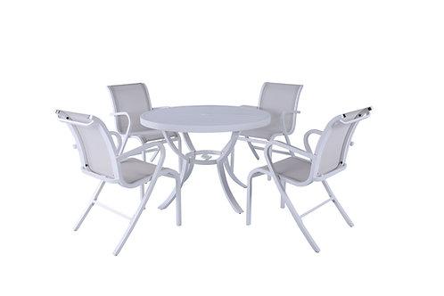 Conj. Heaven Mesa  e 4 cadeiras