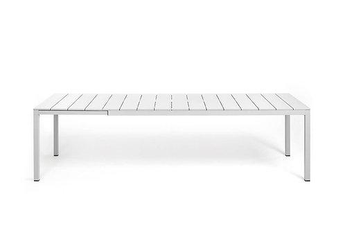 Mesa Rio 140/210 estrutura aluminio e tampo polipropileno