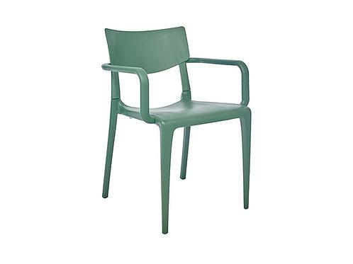 Cadeira Town Braços Green MS-Tow00054X00