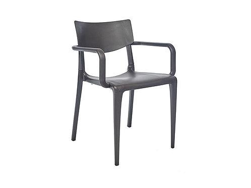 Cadeira Town Braços Moka MS-Tow00093X00