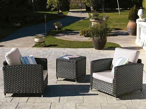 Conjunto Oslo 2 lugares + mesa centro