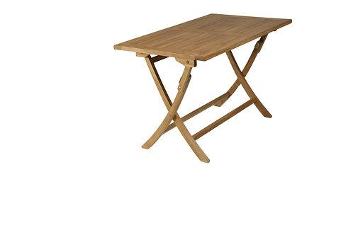 Mesa rectangular teca 70x120